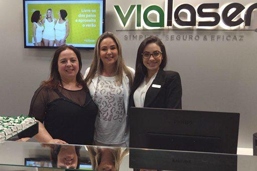 Inauguração da nova clínica Vialaser em Santa Maria/RS