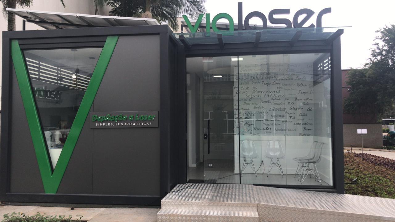 Vialaser traz conceito Ecofriendly para clínica de Jaraguá do Sul